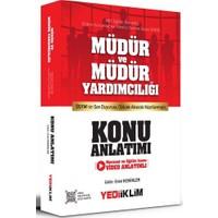 Yediiklim Yayınları MEB EKYS Müdür ve Müdür Yardımcılığı Konu Anlatımı