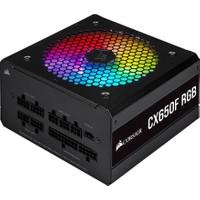 Corsair CX650F RGB 650W 80+ Bronze Siyah Full Modüler 120 mm Fanlı PSU