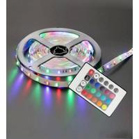 Bitcotech LED Animasyonlu Tak Çalıştır Kumandalı Trafolu Rgb Şerit Işık Aydınlatma 5 Metre