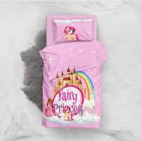 Monohome Fairy Princes 3D Pamuk Saten Bebek Nevresim Takımı