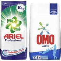 Ariel Matik 10 kg Için + Omo 10 kg Beyazlar Için