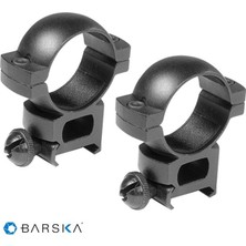 Barska 30MM Weaver / Siyah Yüksek Dürbün Ayağı