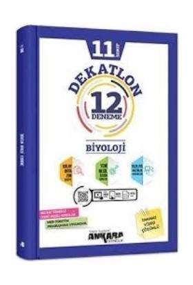 Ankara Yayıncılık 11. Sınıf Biyoloji 12 Deneme Dekatlon