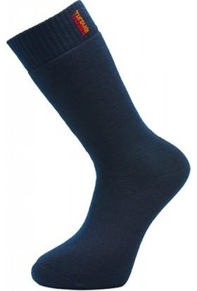 Born Termal Yün Çorap 6lı Paket Karışık Renk