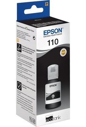 Epson 110 Black Mürekkep - M2140 / M2170 / M3170 / C13T03P14A