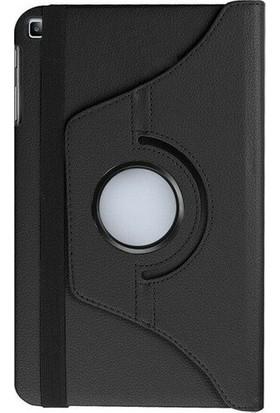 """Gogo Samsung Galaxy Tab S6 Lite SM-P610 10.4"""" Kılıf 360 Derece Dönebilen Standlı Tam Koruma Akıllı Kapak + Tablet Tutucu Siyah"""
