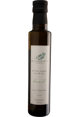 Oliverte's Fesleğen Aromalı Zeytinyağı 250 ml