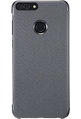 Huawei P Smart Kapaklı Kılıf Siyah