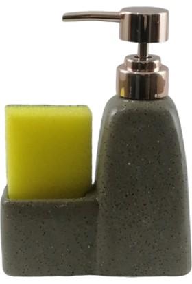 Gönül Mutfak Gönül Gnl G2587 Süngerli Porselen Sıvı Sabunluk 250 ml