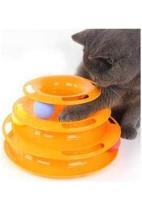 Qax Tower Of Tracks 3 Katlı Kedi Oyuncağı