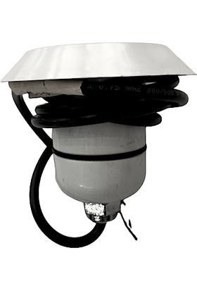 Mega Pool 4 Kablolu Rgb LED ( Osram ) Süs Havuz Aydınlatma Lambaları 7 cm Çap