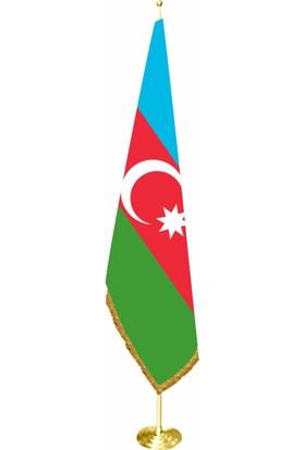 Bayrakal Azerbaycan Makam Bayrağı, Azerbaycan Bayrağı Sarı Direkli
