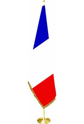 Bayrakal Fransa Makam Bayrağı, Fransa Ofis Bayrağı Sarı Direkli