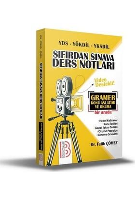 Benim Hocam Yayınları YDS - YÖKDİL - YKSDİL Sıfırdan Sınava Ders Notları - Fatih Çömez