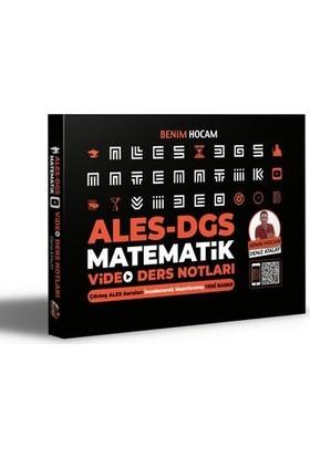 Benim Hocam Yayınları 2021 ALES DGS Matematik Video Ders Notları - Deniz Atalay