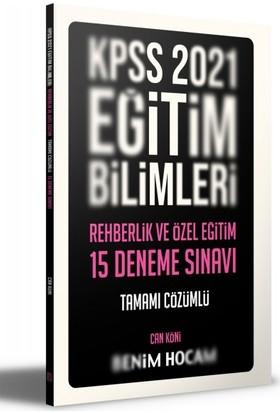 Benim Hocam Yayınları 2021 Eğitim Bilimleri Rehberlik ve Özel Eğitim Tamamı Çözümlü 15 Deneme - Can Köni