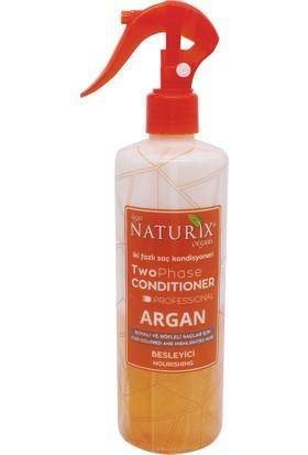 Naturix Argan Yağlı Tuzsuz Şampuan 600 ml + Argan Yağlı Saç Kondiyoneri Kolay Tarama