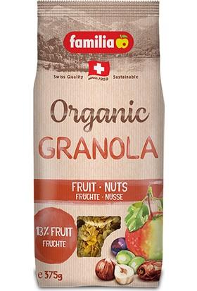 Familia Granola Organik Meyveli Fındıklı 375 gr