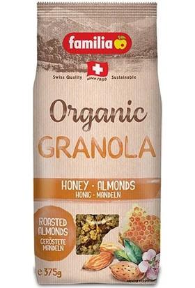 Familia Granola Organik Ballı Bademli 375 gr