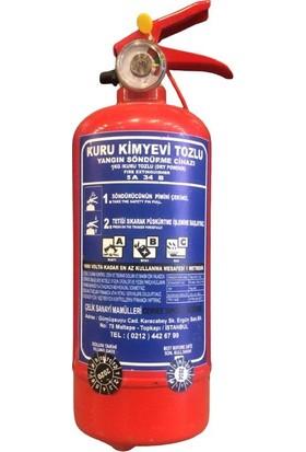 Selçuklu Plus 1 kg Kkt Yangın Söndürme Cihazı