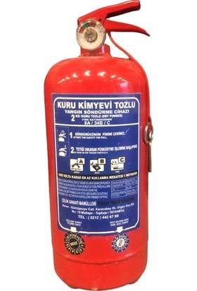 Selçuklu Plus 2 Kg. Kkt Yangın Söndürme Cihazı
