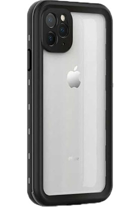 Wowlett Apple iPhone 12 Pro Max Kılıf Su Geçirmez Waterproof Tam Koruma Kılıf