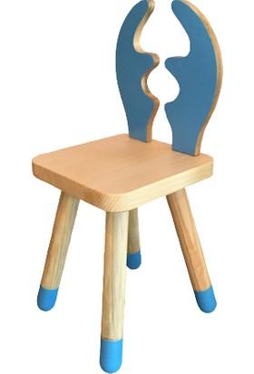 Hamira Masifhayat Chapelet Masif Ahşap Çocuk Sandalyesi Geyik