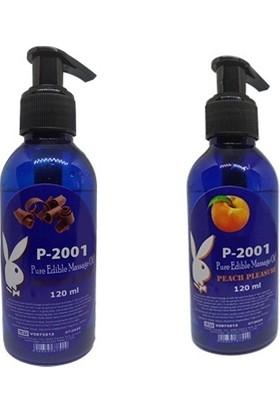 P-2001 Çikolata ve Şeftali Aromalı Masaj Yağı