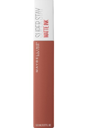 Maybelline New York Super Stay Matte Ink Likit Mat Ruj - 70 Amazonian - Kahverengi