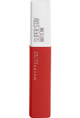 Maybelline New York Super Stay Matte Ink Likit Mat Ruj - 118 Dancer - Kiremit Kırmızı