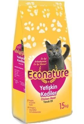 Econature Tavuklu Yetişkin Kedi Maması 15 kg