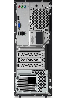 Lenovo V55T AMD Ryzen 5 3400G 32GB 1TB + 256GB SSD GT730 Windows 10 Pro Masaüstü Bilgisayar 11CC001LTXZ95