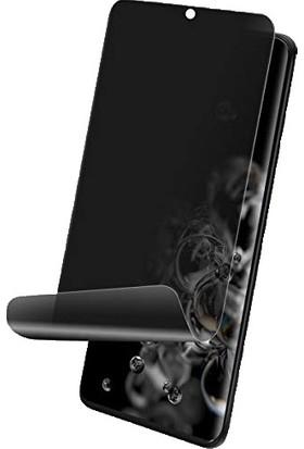 Dafoni Samsung Galaxy S20 Plus Privacy Ekran Koruyucu Film Şeffaf Siyah
