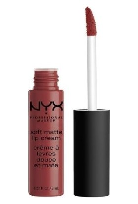 Nyx Soft Matte Metallic Lip Cream Rome