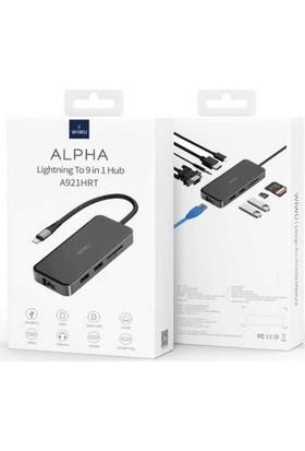 Wiwu Csoftelektronik Wiwu Alpha 921HRT Lightning Hub