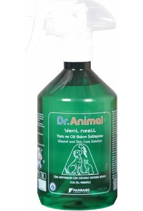 Dr. Animal 500 ml Yara , Cilt ve Göz Bakım Solüsyonu