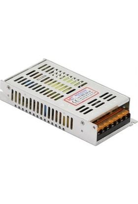 Mervesan Metal Kasa LED Trafosu 12 Volt 16,6 A 200 Watt (Ac/dc)