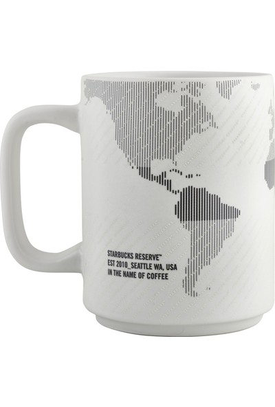 Starbucks Reserve™ Seramik Harita Tasarı mlı Kupa - 355 ml