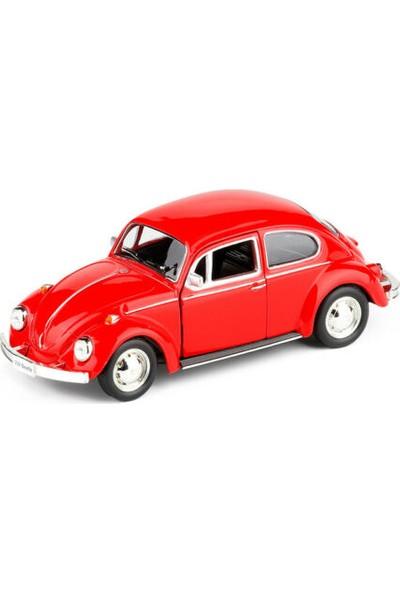 Ysn Toys Hediyelik Metal Çek Bırak Kırmızı Wosvos Araba