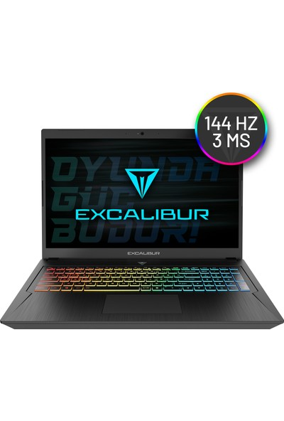 "Casper Excalibur G780.1075-B560X Intel Core i7 10750H 16GB 1TB + 240GB SSD RTX2060 FreeDos 17.3"" FHD Taşınabilir Bilgisayar"