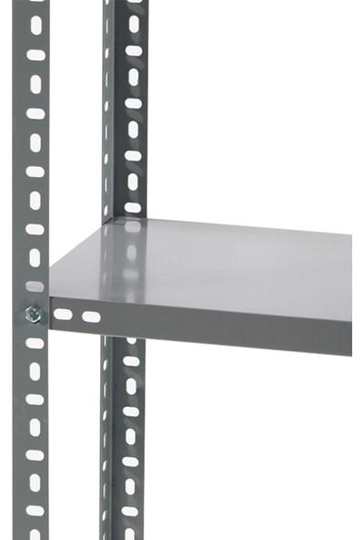 Manken İstanbul 4 Katlı Çelik Raf 31X93X200 cm