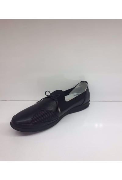 k Comfort Ayakkabı Forex 102 Kadın Deri Günlük Comfort Ayakkabı