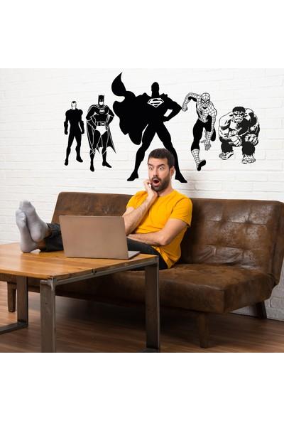 Ega Süper Kahramanlar Duvar Sticker