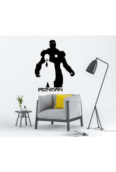 Ega Ironman & Tony Stark Duvar Sticker
