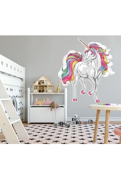 Ega Unicorn Çocuk Odası Duvar Sticker