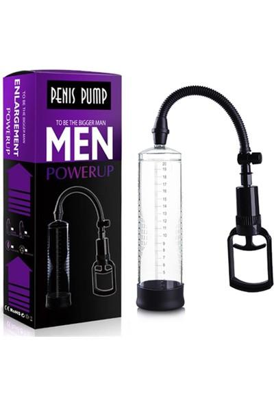 Enlargement Men Powerup Tetikli Penis Pompası