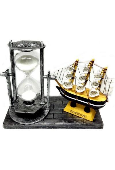 İstoc Trend Dekoratif Kum Saati Biblo