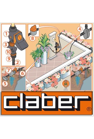 Claber 8422 Aquauno Logıca Tımer Sulama Zamanlayıcısı
