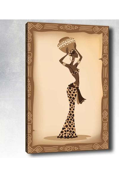 Syronix Afrikalı Bayan Kanvas Tablo