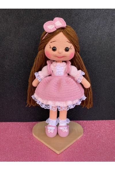 Simay Store Örgü Oyuncak Alice Örgü Bebek